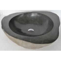 vasque en pierre avec bords PA10