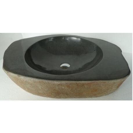 vasque en pierre avec bords PA9