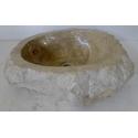 Vasque à poser en Marbre E6-45x37cm