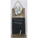 panneau décoratif en bois message