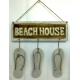 panneau décoratif en bois beach house