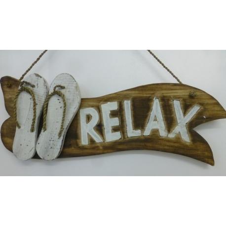panneau décoratif en bois relax