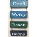 panneau décoratif en bois don't worry