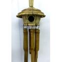 mobile bambou cabane oiseau