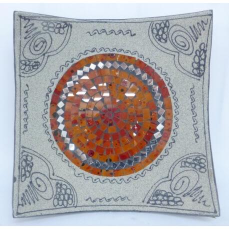 corte de mosaico plano / cuadrado 1
