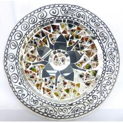 corte de mosaico plano / redondo 6
