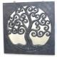 espejo TREE OF LIFE cuadrado negro