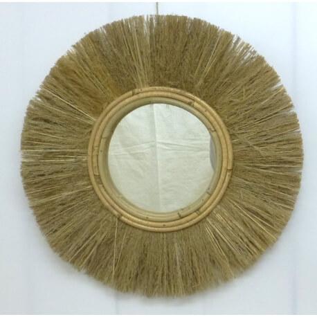 "espejo redondo ""naturaleza"