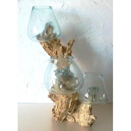 triple vase TR5