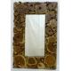 Espejo rectangular de madera Grand Nord
