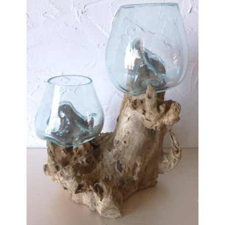 Double vase ou aquarium DBSS1