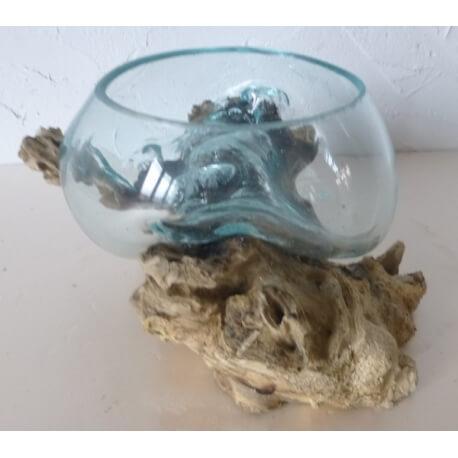 vase ou aquarium évasé TER2