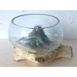 vase ou aquarium évasé TER4