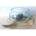 vase ou aquarium évasé TER8