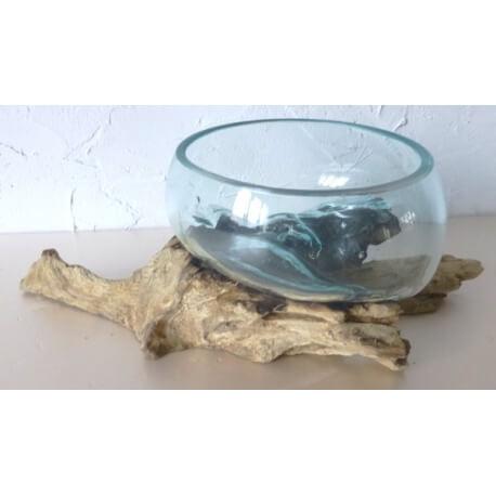 vase ou aquarium évasé TER11