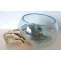vase ou aquarium évasé TER14
