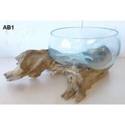 vase ou aquarium évasé AB1