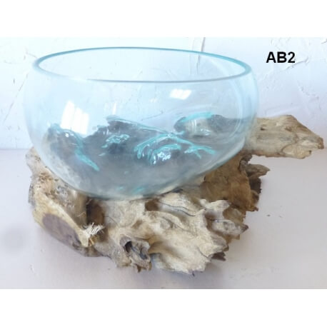 vase ou aquarium évasé AB2