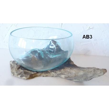 vase ou aquarium évasé AB3