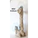 Double vase ou aquarium gm HO2