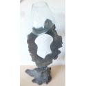 verre soufflé sur pied G04