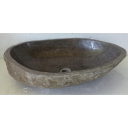 Lavabo de Piedra Natural XX13-65x49cm