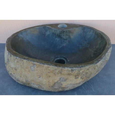 Lavabo de Piedra Natural K65A-45x33cm