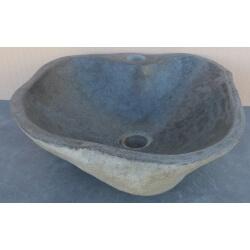 Lavabo de Piedra Natural K67A-41x43cm