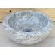 Vasque en marbre polie noire 30x30cm mr12p