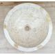 Vasque en marbre polie crème 40x40cm mr21