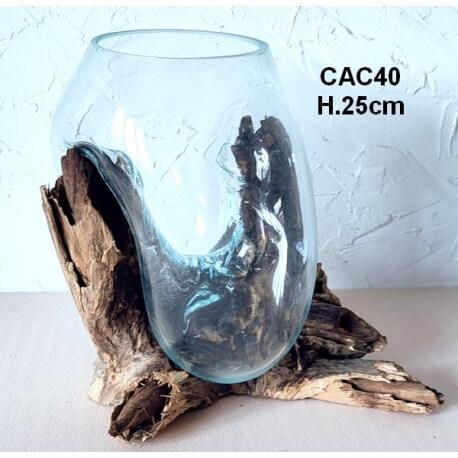 Vaso o acuario CAC40