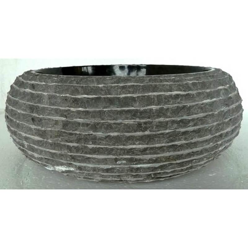 Vasque en marbre noir mr18 exotica import for Vasques import