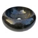 lavabo de màrmol pulida color negro  40x40cm H.15cm mr25