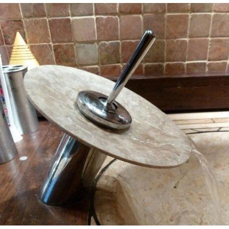 Robinet cascade court pour vasques