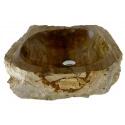 Lavabo de Madera Fosilizado da58-47x46cm