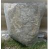 Vasque en pierre sur pied