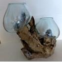 Double vase ou aquarium DG1