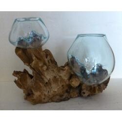 doble vaso o acuario 1AB mix