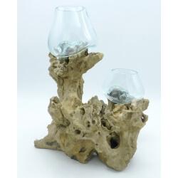 Double vase ou aquarium DoS1
