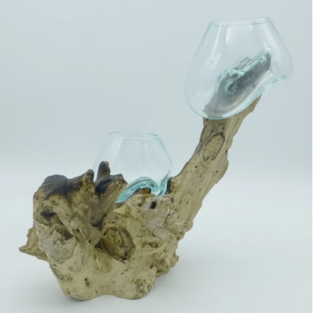 Double vase ou aquarium DoS6