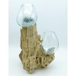 Double vase ou aquarium DoGm1