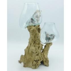 Double vase ou aquarium DoGm5