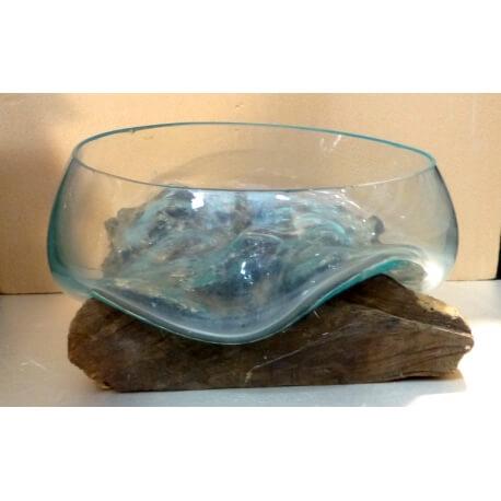 vase ou aquarium évasé SaB20
