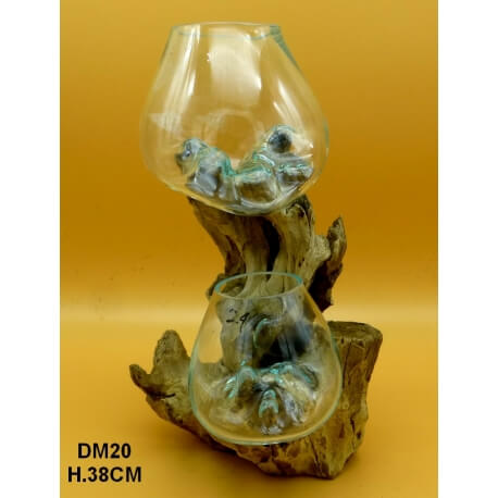 doble vaso o acuario GM20