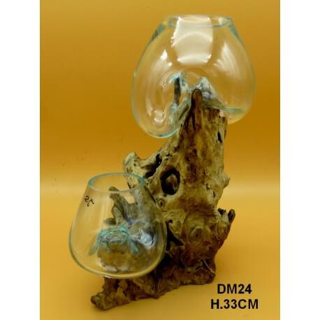 doble vaso o acuario GM24