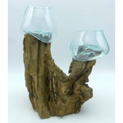 doble vaso o acuario DOS9
