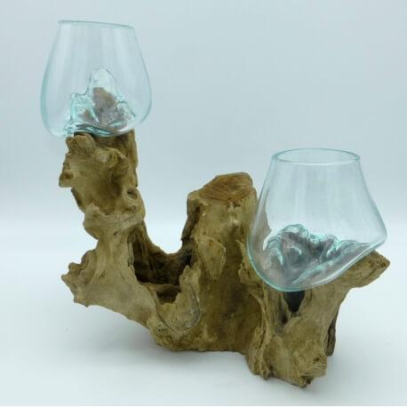 doble vaso o acuario DOS12