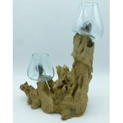Double vase ou aquarium DOS14